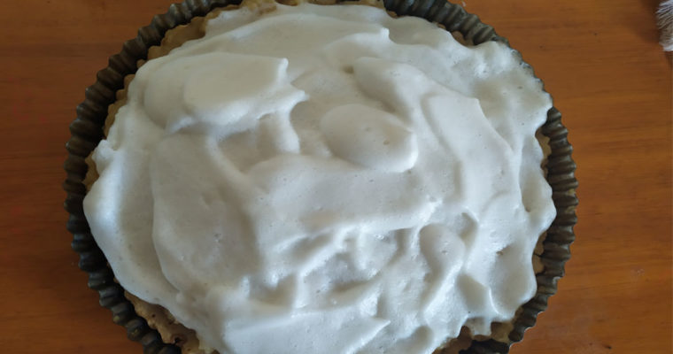 LEMON PIE VEGANO Y SIN TACC